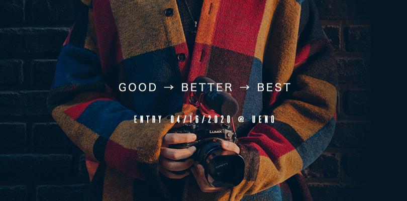 GOOD → BETTER → BEST